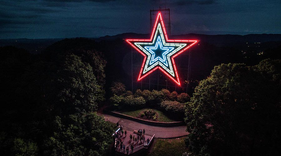 mill-mountain-at-night-star-city-skycams